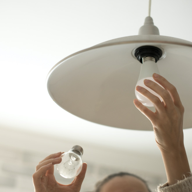 orchard gardens inclusive services maintenace changing light bulb