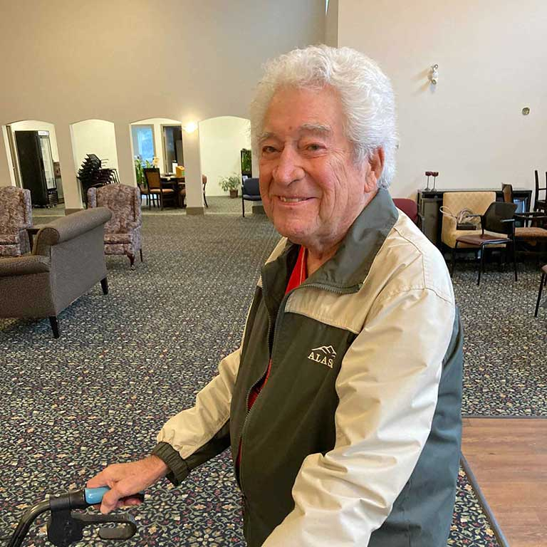 orchard gardens our story our mission happy senior resident